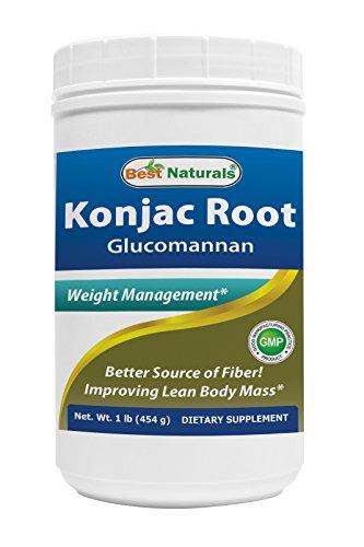 Pure Naturals Konjac Root, 2000 Mg, 180 Veg Capsules