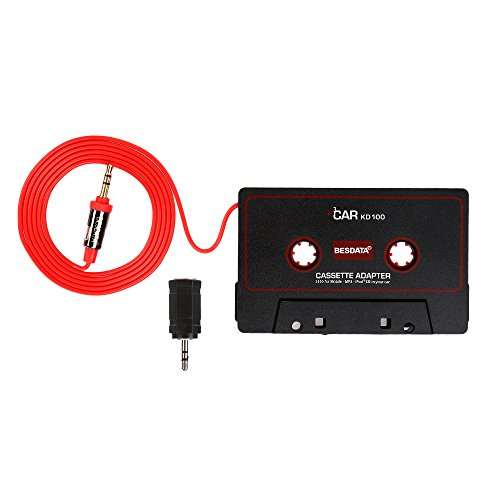 Fore Car Cassette Adapter Player Black Electronicify