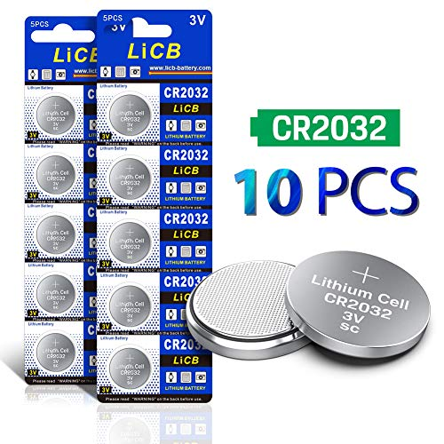 Licb 10 Pack Cr2450 Battery 3v Lithium Cr 2450 Electronicify